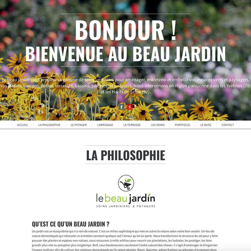 designer site web